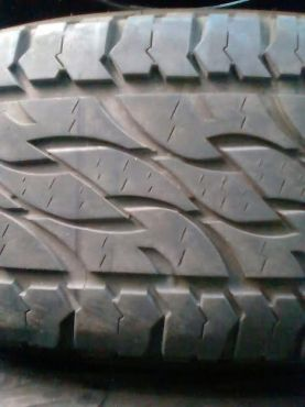 265/65/17 Bakkie Tyres Excellent Condition At 850 Each,just Have A Look. | Moot | Tyres and Wheels | 63954396 | Junk Mail Classifieds