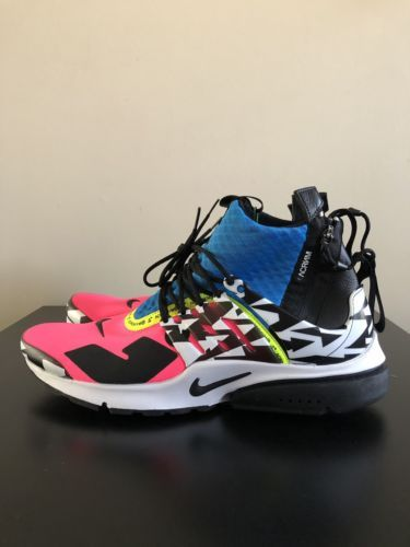 finest selection 27a42 cf3cc NIKE AIR PRESTO MID ACRONYM RACER PINK PRESTO NIKE THE 10 PRESTO ACRONYM  AF1 G
