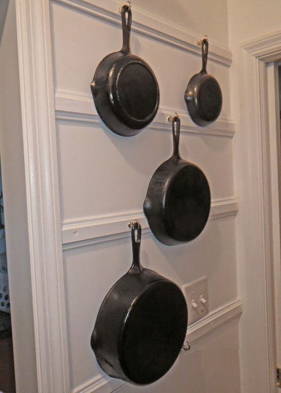 A Scrapbook Of Me Displaying Cast Iron Cookware