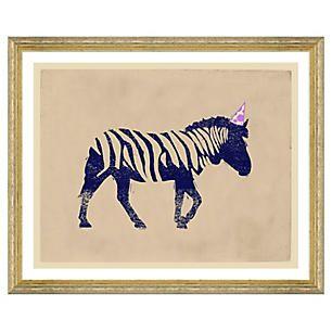 Party Animals, Zebra