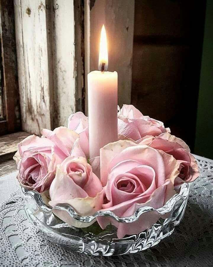 Pin Von Edith Fahrenkamp Auf Deko Romantische Kerzen Schone