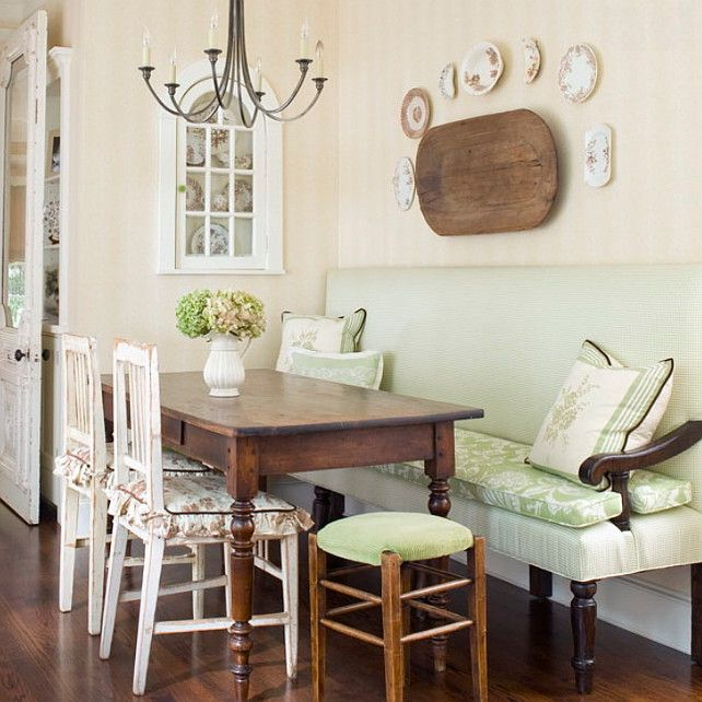 Dining Table Against Wall 396 best at the kitchen table images on pinterest   kitchen tables