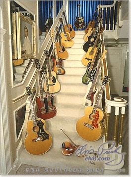 Elvis Staircase @ Graceland