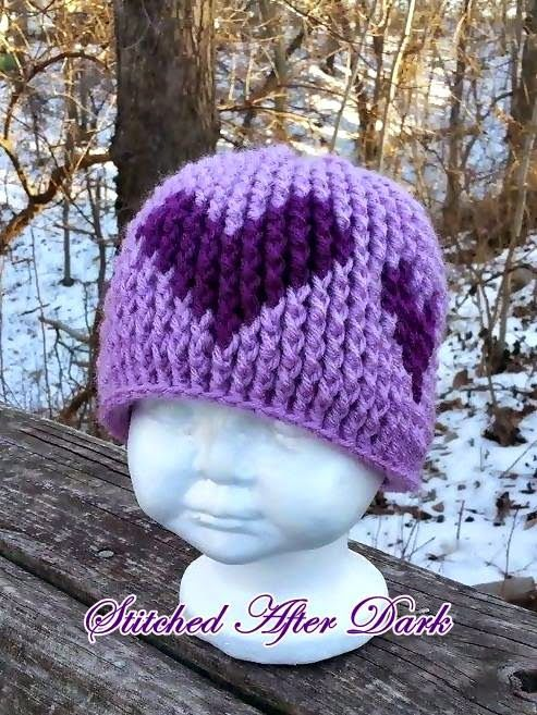 MNE Crafts: Yours Truly Graph Hat