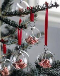Træet skal spises!  Børnene vil elske denne lille detajle på juletræet. Haps  haps og de små godter er væk!