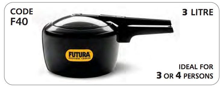 Hawkins Futura Hard Anodized 3.0 Litre Pressure Cooker