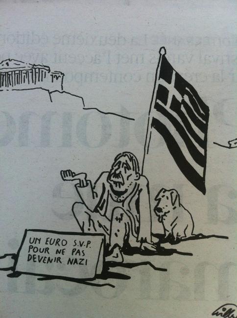 Twitter v/ pierrehaski : Excellent #Willem dans #Libé!