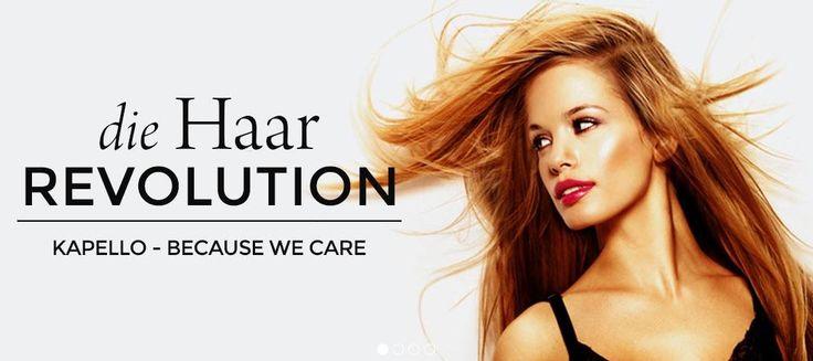 Kapello Hair Extensions Schweiz bietet Ihnen qualitativ hochwertige 100% Echthaar-Extensions an.