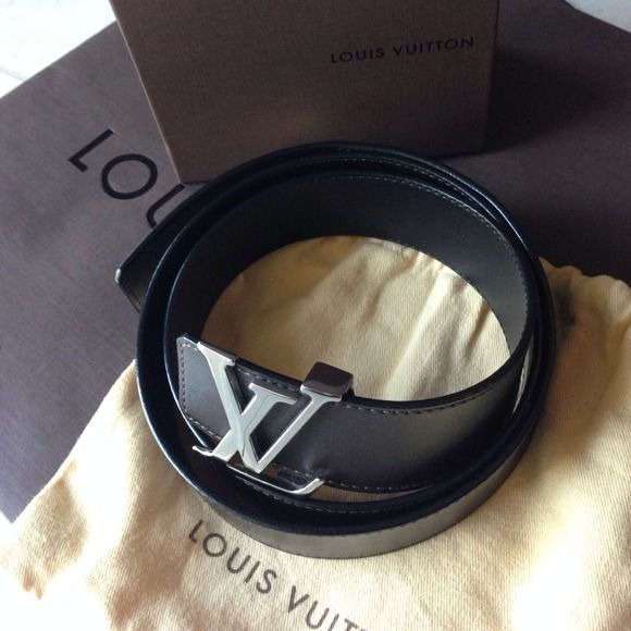 LV men belt M9887 Very good condition Louis Vuitton Accessories Belts
