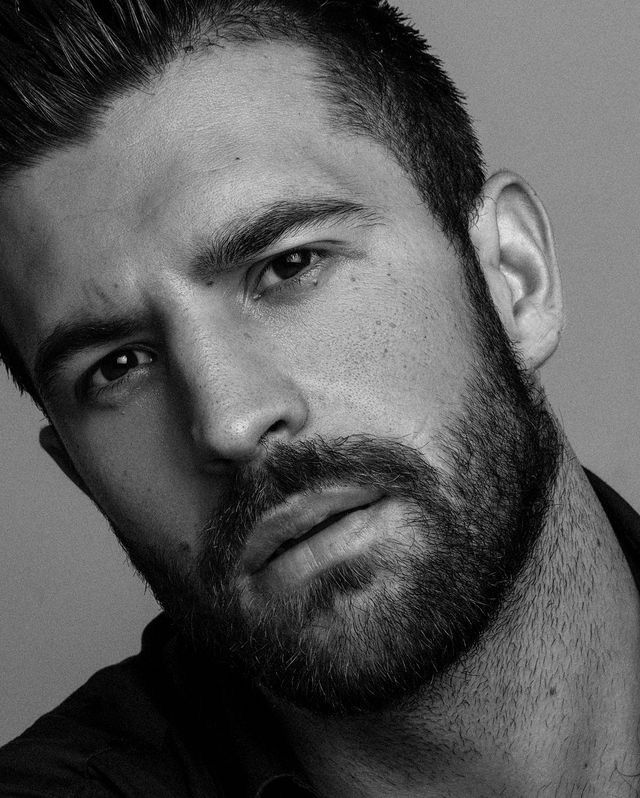 Sexy men with beard