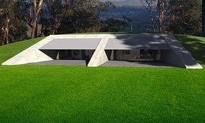 A bushfire resistant, earth sheltered house at Narwee