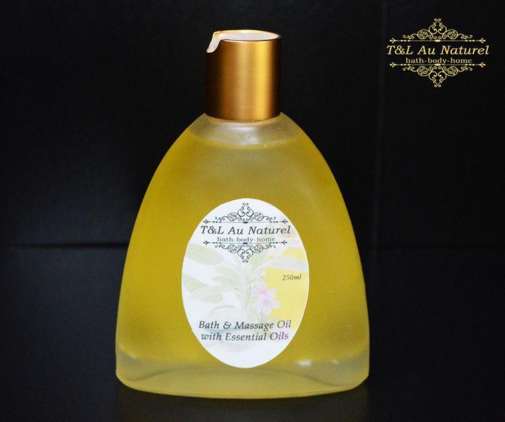 Bath & Massage Oil ~ Balance