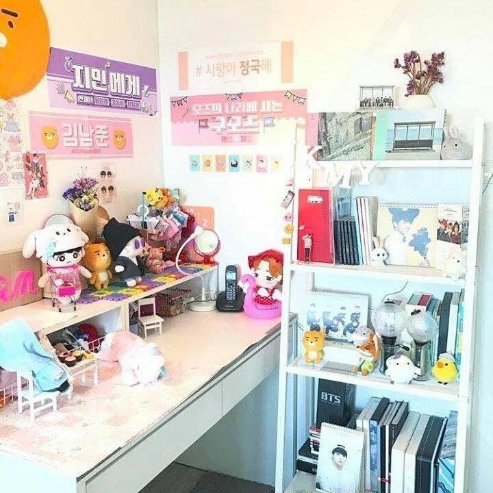 Pin by Jimin Na on BTS | Teenage girl bedroom diy, Room ... on Room Decor Bts id=71140