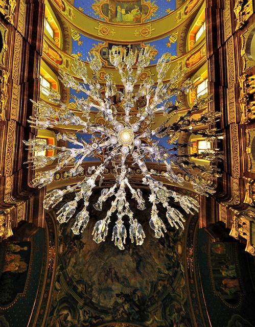 Baroque Basilica Oradea-Chandelier