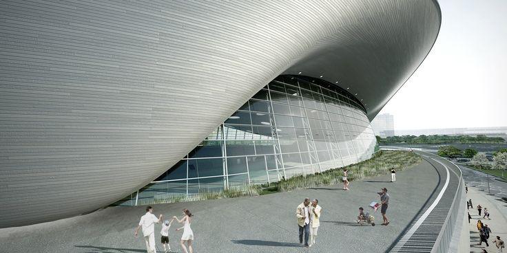 Gallery of London Aquatics Centre for 2012 Summer Olympics / Zaha Hadid Architects - 39