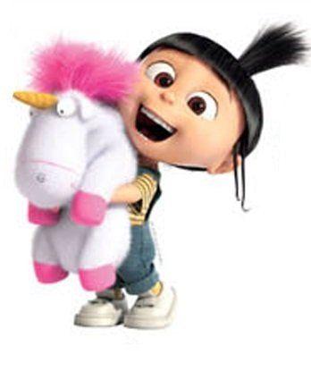 4 Inch Agnes Fluffy Unicorn Despicable Me 2 Minion ...