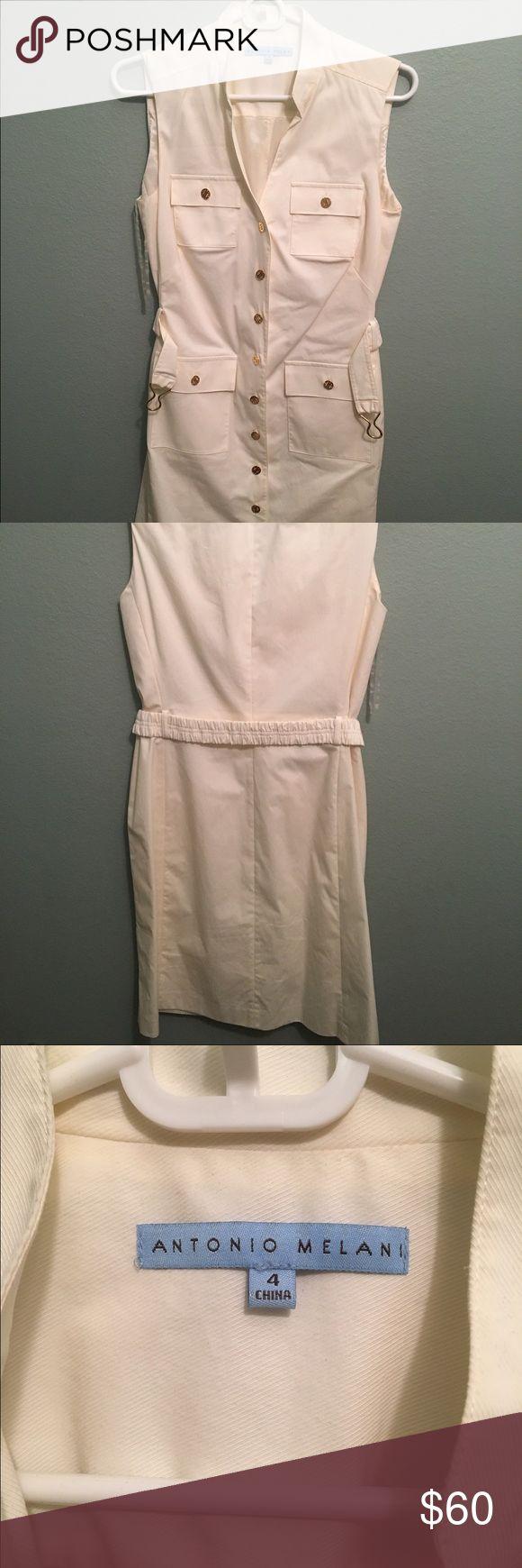 Antonio Melani White Dress Antonio Melani White Jacket/Dress ANTONIO MELANI Dresses