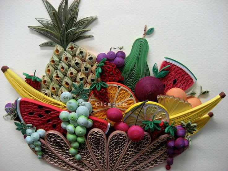 amazing food fruits 3d - photo #36