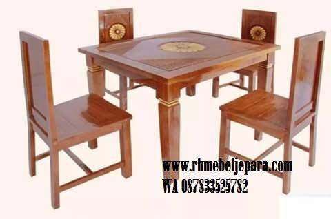 meja makan minimalis - roy mebel