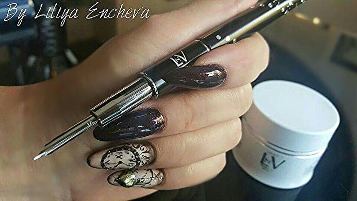 Acryl System First by LNV... master nail educator Liliya Encheva