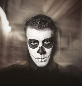 easy halloween face paint ideas for men - Google Search