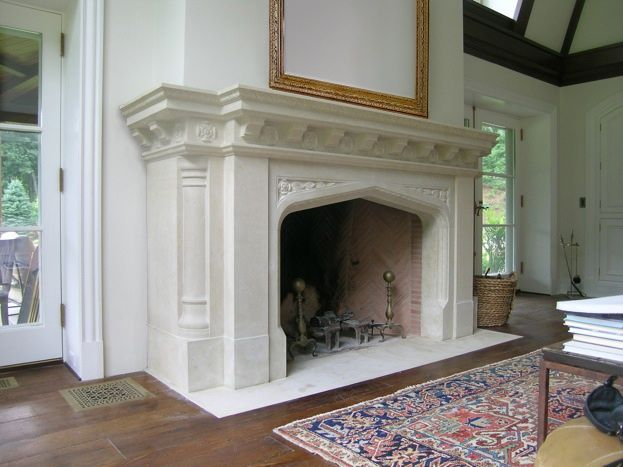 146 best images about inspiration design fireplace mantles for Tudor style fireplace