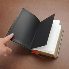 Vintage Leather Cover Thick Blank paper Notebook Journal Diary Notepad