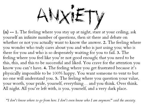 Anxiety Tattoo Quotes. QuotesGram by @quotesgram