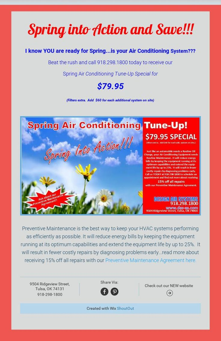Spring into Action and Save!!! (With images) Air