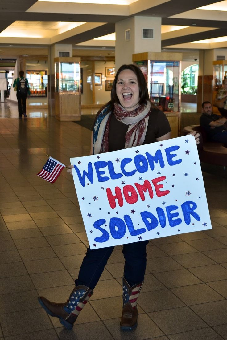25 best ideas about welcome home signs on pinterest diy for Welcome home soldier decorations