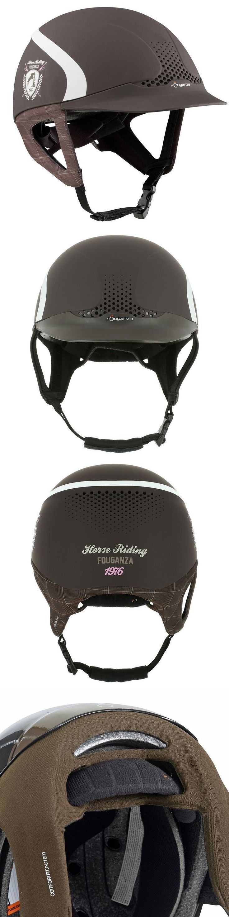 Riding Helmets 47269: Fouganza Horse Riding Hat Helmet Safety Jump Headwear Equestrian Protective -> BUY IT NOW ONLY: $59 on eBay!