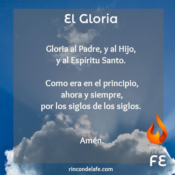 Resultado de imagen para gloria oracion