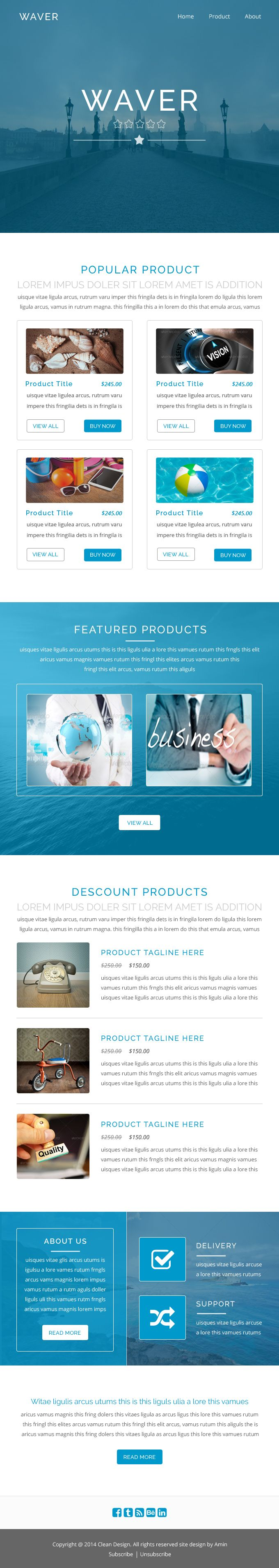 25 best ideas about email templates on pinterest email for Modern newsletter design
