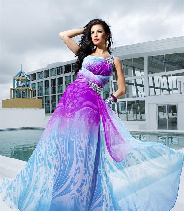 DCTBE11218 evening dress PRINTS... Rock them or Ditch them?