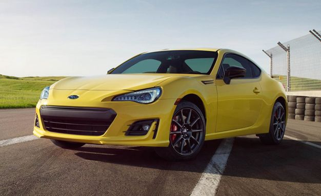 2017 Subaru BRZ Series.Yellow Is Really Really Yellow