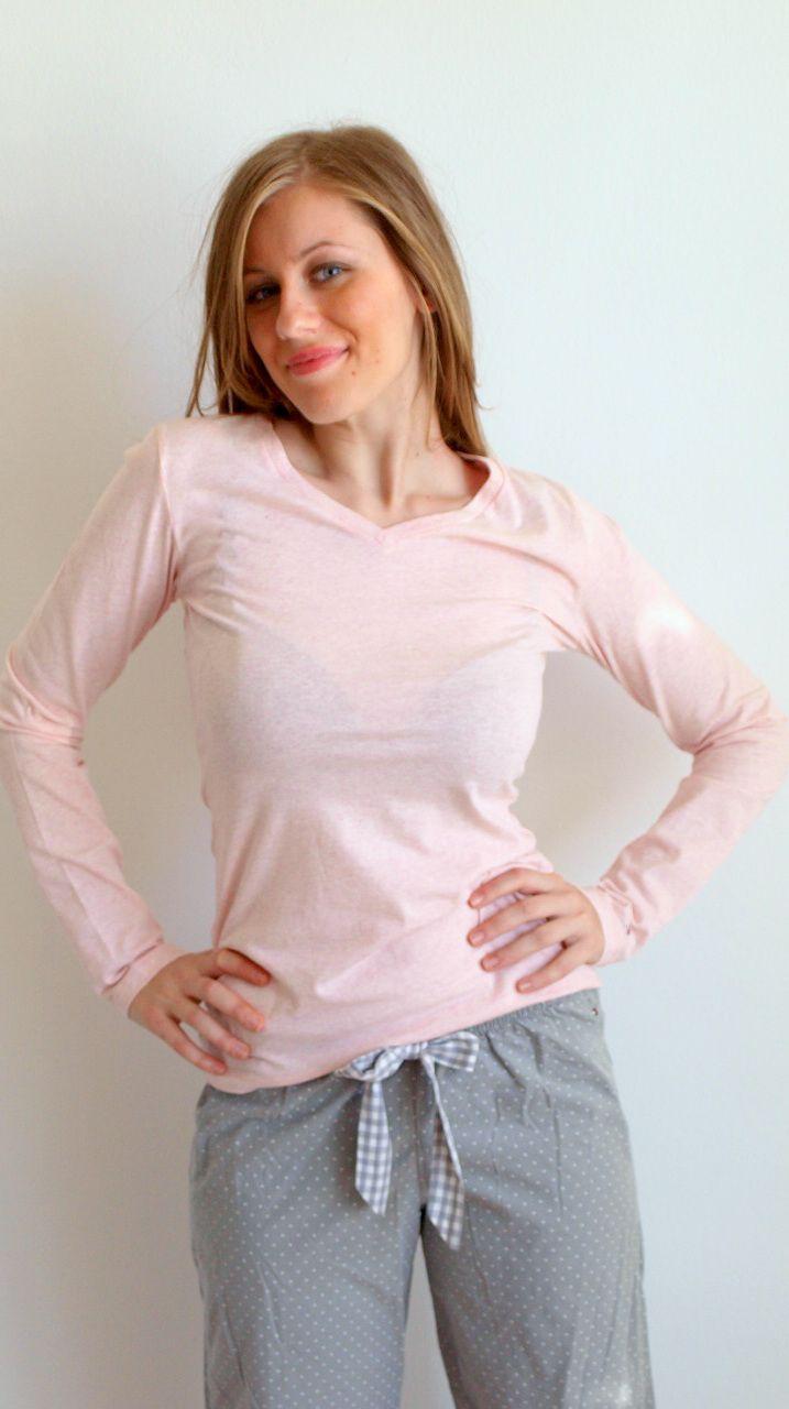 Tommy Hilfiger pink & grey pyjamas http://lutecia.gr/Sleepwear?product_id=502