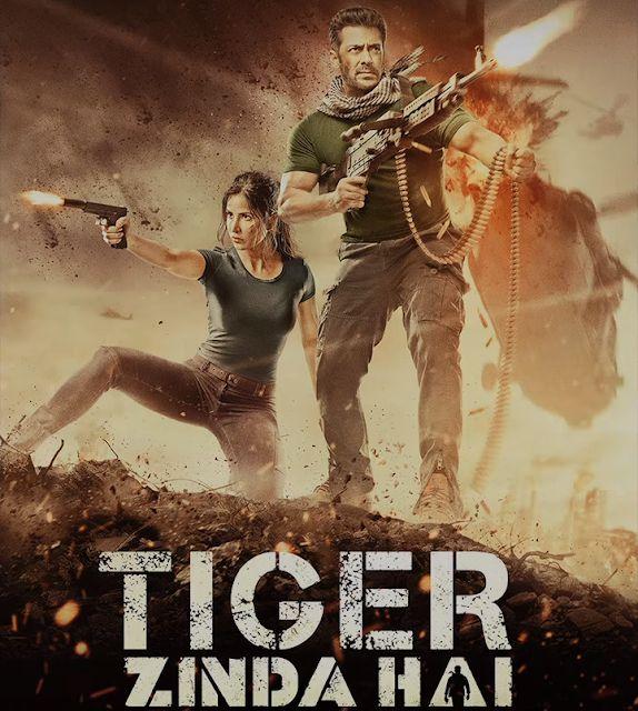 Quality Movies : TIGER ZINDA HAI 2017 DVDrip Full HD 480p 450mb