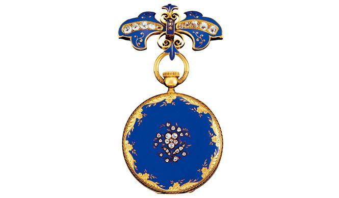 Patek Philippe 青い瞳の女王が愛したペンダント・ウォッチ&ブローチ
