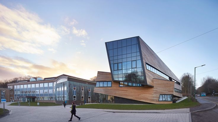 Centro Ogden para la Física Fundamental, Universidad de Durham, Inglaterra - Studio Daniel Libeskind - foto: Hufton + Crow