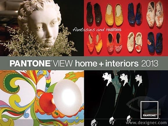 Pantone View Color Trend Forecast 2013