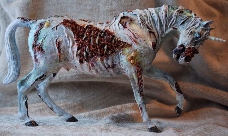 Childhood ruined forever (zombie unicorn)