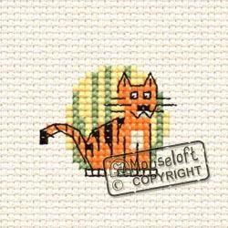 At The Zoo Tiger Cross Stitch Kit 00A-002atz