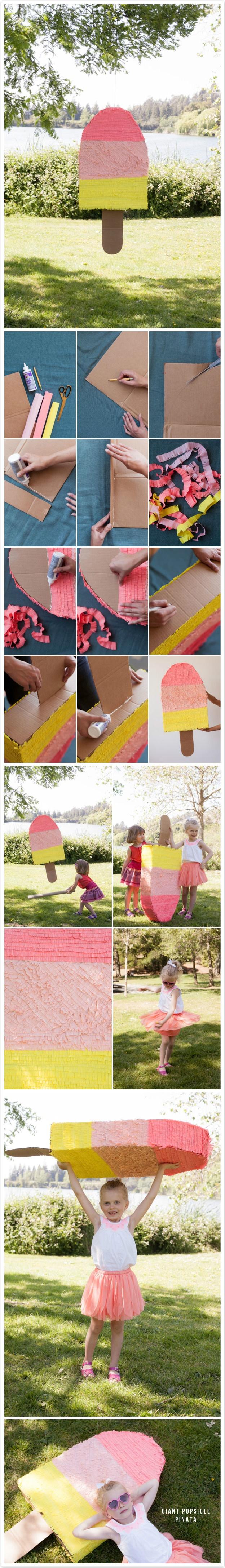Pinhata de papelão 纸板皮纳塔