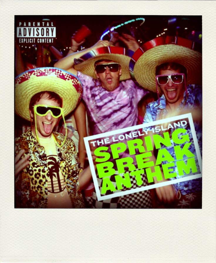 """The Lonely Island x A-Morir """"Spring Break Anthem"""" Single Cover"""