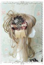 Infanta Branded Steampunk Stijl Gear Decored Lolita Haarspeld/Broche(China (Mainland))
