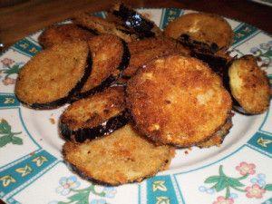 Melanzane impanate e fritte....che bontà!  :)