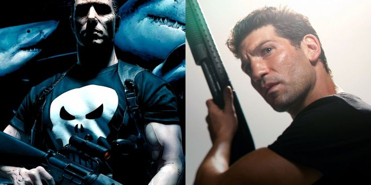 Jon Bernthal as the Punisher.  Absolutely.