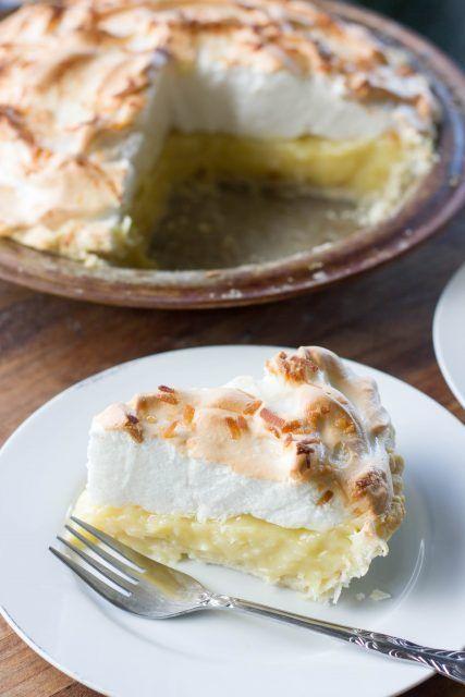 Coconut Cream Pie : Kendra's Treats