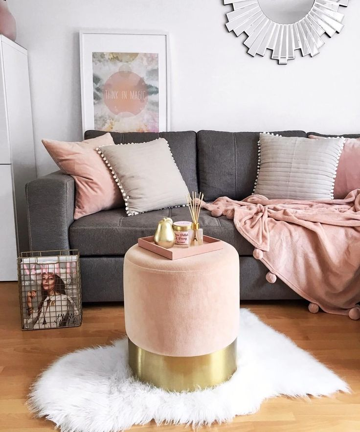 Pouf Harlow is our favorite Whether as a seat, storage or feet hoc | Pouf, Living  room designs, Decor