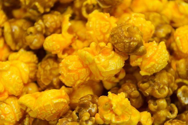 Cheese and Caramel popcorn mix!